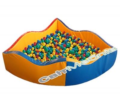 """Сухий басейн """"Хвиля"""""""