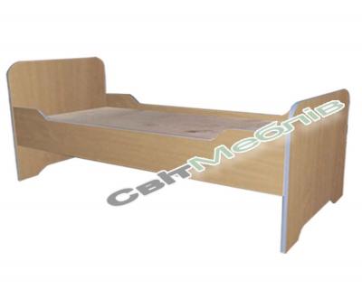 Ліжко дитяче з заокругленими бильцями без матрацу