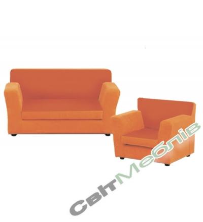 Диван і крісло для дитячого садочку №1