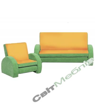 Диван і крісло для дитячого садочку №2