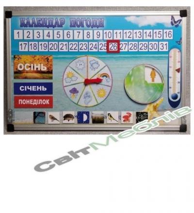 """Календар природи """"Вчимося граючи"""""""